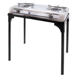 Stansport 213 ss 2 burner stove w stand