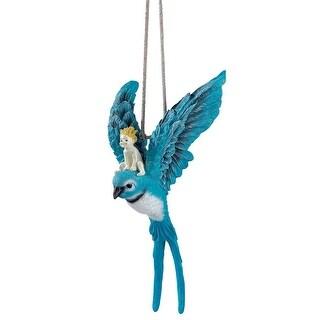 Design Toscano Thumbelina Garden Sculpture: Hanging Version