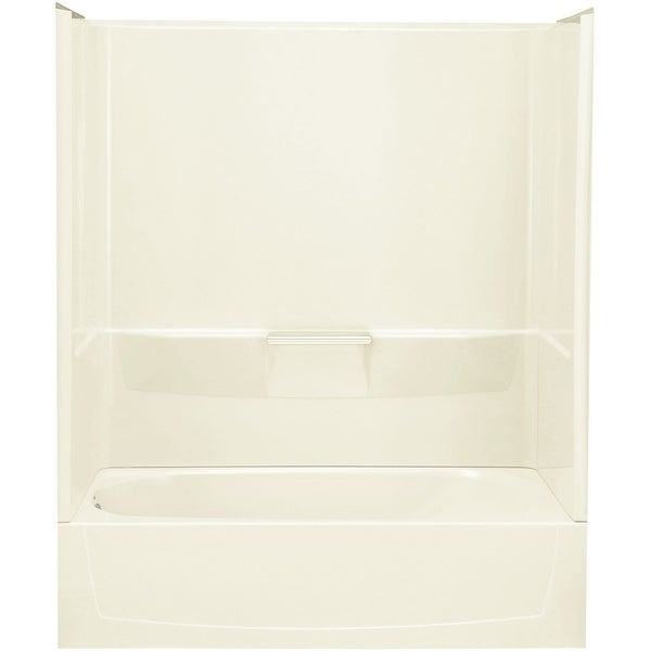 """Sterling 71040112 Performa 60"""" x 29"""" x 77-3/4"""" Vikrell Bath/Shower with Left-Hand Drain"""