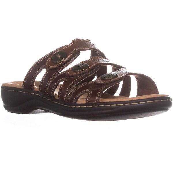 10ff441b606 Shop Clarks Leisa Grace Platform Slip on Sandals