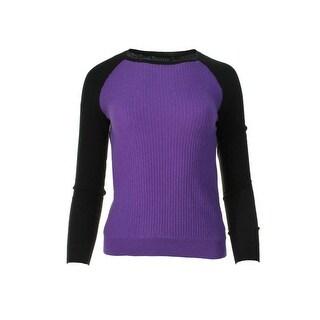 Lauren Ralph Lauren Womens Pullover Sweater Knit Long Sleeves