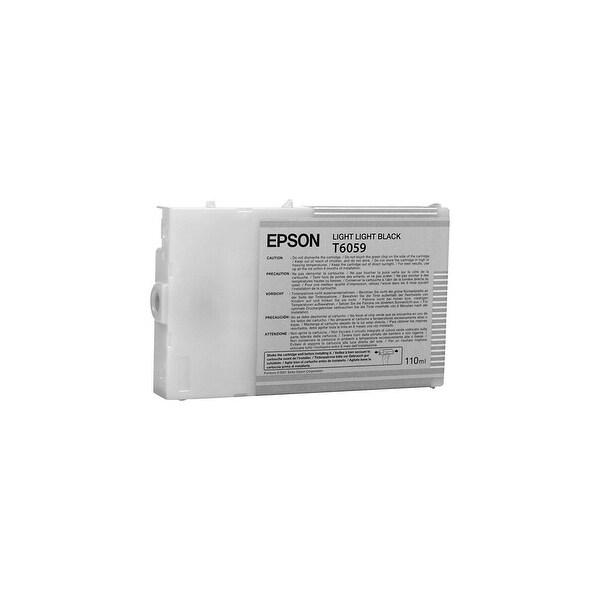 Epson UltraChrome K3 Ink Cartridge - Light Black Ink Cartridge