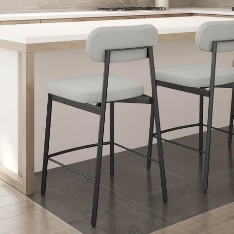 Amisco Orly Counter and Bar Stool - N/A