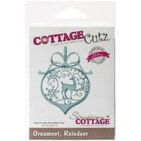 CottageCutz Reindeer Ornament Elites Die
