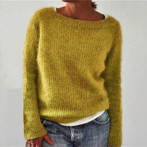 Explosive Sweater Pure Color Static Version