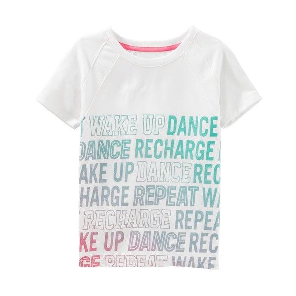 abbdec24284 Shop OshKosh B gosh Little Girls  Active Tee