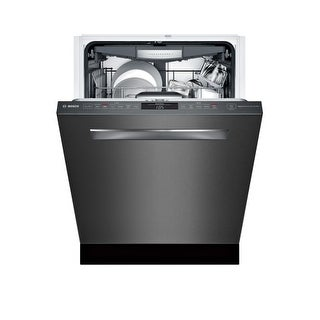 Bosch SHPM78W5 24 Inch Wide 16 Place Setting Energy Star Built-In Fully Integrated Dishwasher with Recessed Handle and Eco Cycle