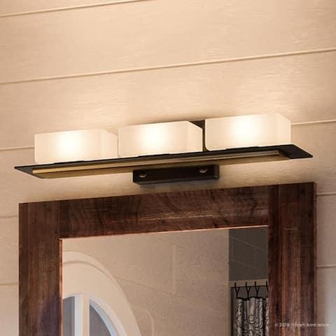 Bronze, Mission & Craftsman Bathroom Vanity Lights | Find ...