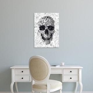 Easy Art Prints Ali Gulec's 'Doodle Skull' Premium Canvas Art