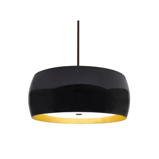 "Besa Lighting 1KT-POGOGF Pogo 3 Light 16"" Wide Pendant (2 options available)"