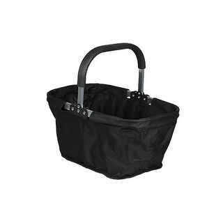 "Culinary Accessories Accessories Market Basket Black (collapsible) 17"" x 11"" x 9"" Shopping Bags"
