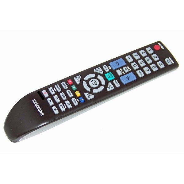 OEM Samsung Remote Originally Shipped With: UN46D6003SF, UN46D6003SFXZA, UN55D6003, UN55D6003SF