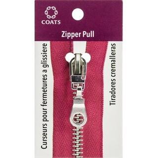 Coats Zipper Pull-Silver Pop Top