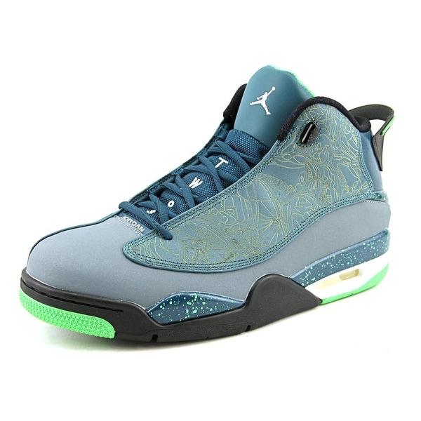 Jordan Air Jordan Dub Zero Men Teal/Blue Graphite/Black/Light Green Spark Basketball Shoes