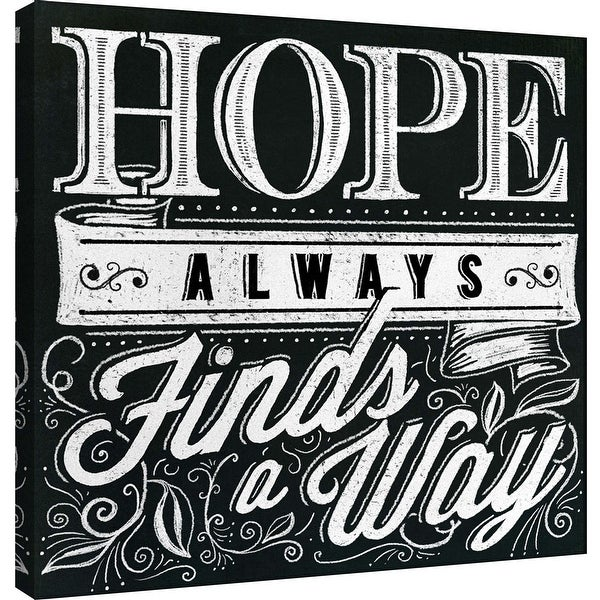 "PTM Images 9-101002 PTM Canvas Collection 12"" x 12"" - ""Honest Words - Hope"" Giclee Hope Art Print on Canvas"