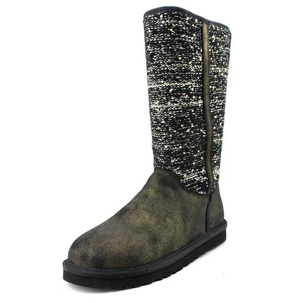 Ugg Australia Camaya Round Toe Canvas Winter Boot