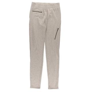 Rachel Rachel Roy Womens Zip-Detail Ankle Slim Pant