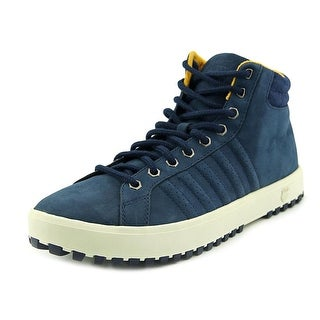 K-Swiss Adcourt 72' Round Toe Leather Sneakers
