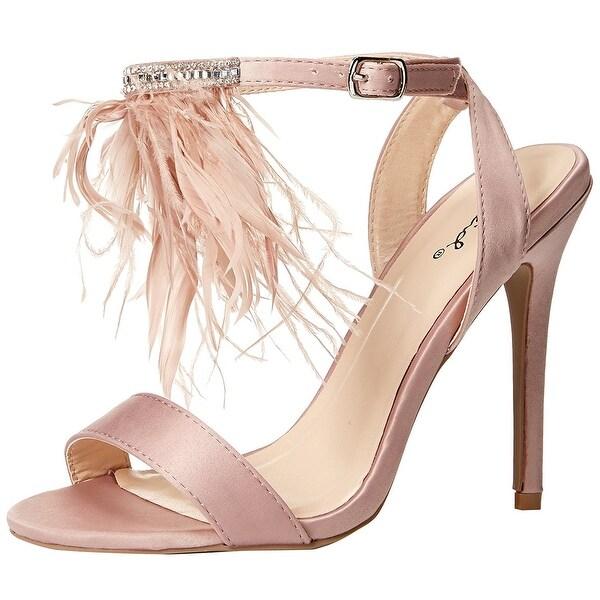 Qupid Women's Ara-341X Heeled Sandal