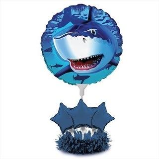 Shark Splash - Air Filled Balloon Centerpiece Kit - Case of 4