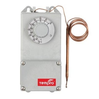 Tempro Line Voltage -0 To 120 Degree F SPDT Isolated SPDT Thermostat