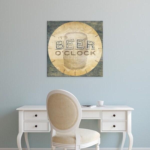 Easy Art Prints June Erica Vess's 'Beverage O'Clock III' Premium Canvas Art