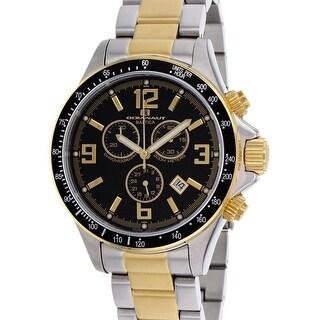 Oceanaut Men's Baltica OC3325 Black Dial Watch