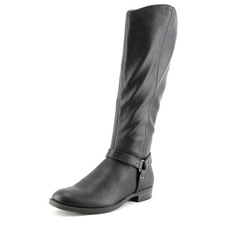 Style & Co Alix Round Toe Synthetic Mid Calf Boot