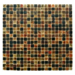 "Miseno MT-SIENNA5/8SQ Sienna - 5/8"" X 5/8"" - Glass Visual - Wall Tile (Sold by S"