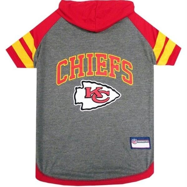 Shop Kansas City Chiefs Pet Hoodie T-Shirt - X-Small - Free Shipping ... 56a667609