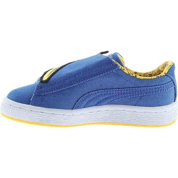 Shop PUMA Children's Minions Basket Wrap Statement Sneaker