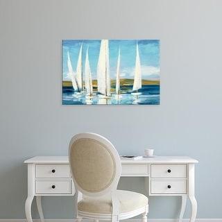 Easy Art Prints Julia PurintonKings's 'Horizon' Premium Canvas Art