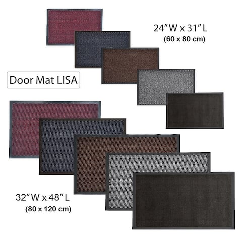 Multi Size Indoor Large Door Mat Lisa