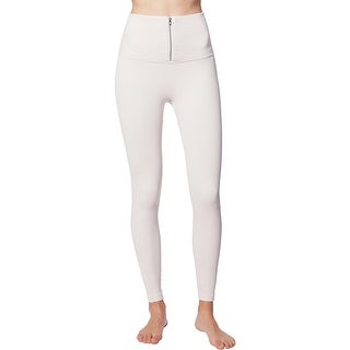 Link to FP Movement Part of Me Women's High-Rise Ribbed Knit Front Zip Activewear Leggings Similar Items in Athletic Clothing