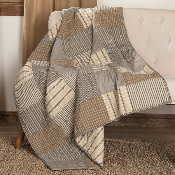 Sawyer Mill Block Quilted Throw. Opens flyout.
