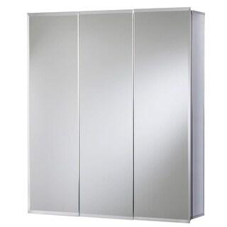 "Jacuzzi PD46000 26"" H x 24"" W x 5-1/4"" D Triple Door Medicine Cabinet"