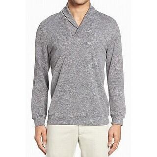 Zachary Prell Mens Longsleeve Shawl Collar Sweater