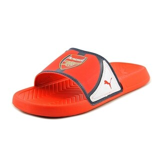 Puma Popcat AFC Men Open Toe Synthetic Red Slides Sandal