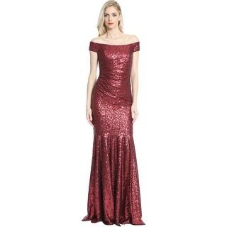 Gold Semi Formal Evening Dresses