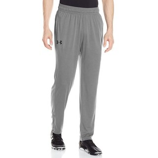 Under Armour NEW Gray Mens Size XL Logo Tech Pants Atheltic Apparel