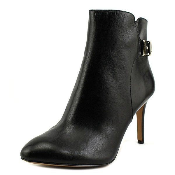Nine West Palafox Pointed Toe Leather Bootie