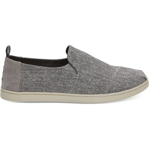 Toms Mens Deconstructed Alpargata, Shade Micro Crosshatch