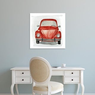 Easy Art Prints Jennifer Paxton Parker's 'Classic Autos I' Premium Canvas Art