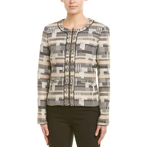 Badgley Mischka Wool-Blend Jacket