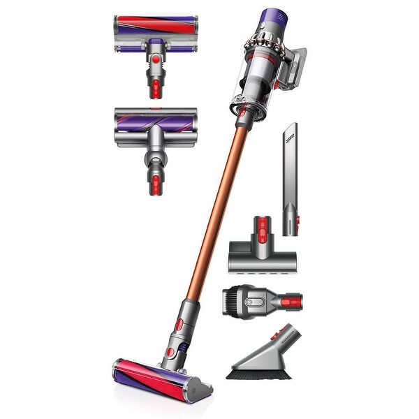 shop dyson cyclone v10 absolute cordless vacuum cleaner comes w soft roller head torque. Black Bedroom Furniture Sets. Home Design Ideas