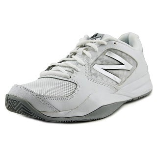 New Balance WC696   Round Toe Synthetic  Sneakers