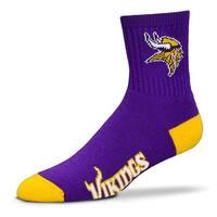 Minnesota Vikings Team Color Crew Socks