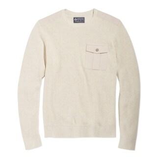 American Rag NEW Ivory Oat Mens Size 2XL Crewneck Long Sleeve Sweater