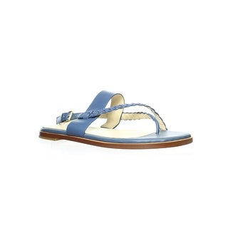 Link to Cole Haan Womens Anica Braided Thong Blue Sandals Size 10 Similar Items in Women's Shoes