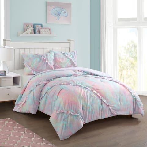 Heritage Club Emelie Ruffle Comforter Set